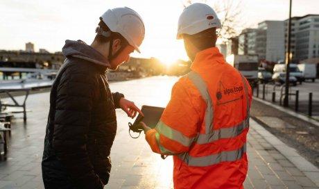 Photographe pour reportage photo chantier BTP à Lyon