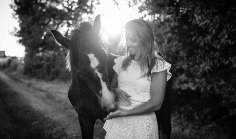 Shooting photo avec cheval à Lyon