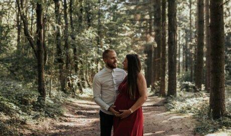 Shooting grossesse en couple à Lyon