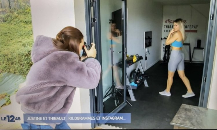 Photographe professionnelle à Lyon pour influenceur fitness
