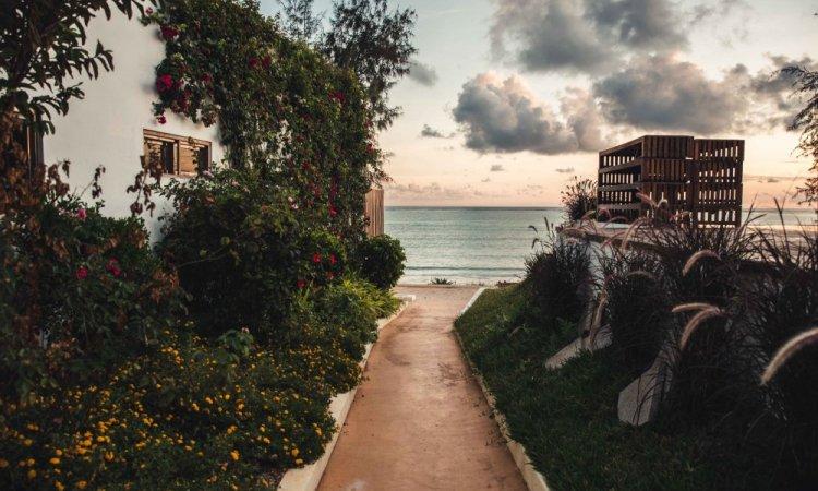Photographe pour photos de vues d'hôtel à l'étranger